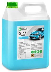 GRASS 113161 ШАМПУНЬ-АВТО AUTO ACTIVE FOAM   5KG  ДЛЯ БЕСКОНТ. МОЙКИ.