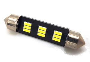 КИТАЙ K30300 Диод световой 12v   C10W (SV8,5) L=36mm   9-ср led  Подсв. салона, багажн., номерн. знака.