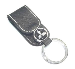 КИТАЙ K15845 Брелок   Ремень MITSUBISHI чёрный  Кольцо, в коробке, на ремень.