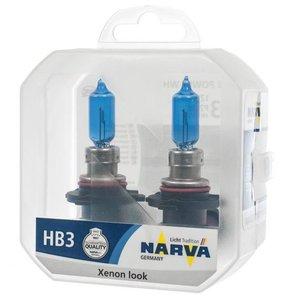 NARVA 48625 ЛАМПА К-Т HB3  60W P20d RANGE POWER BLUE+  12V