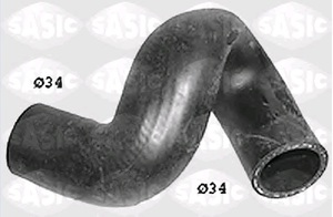 SASIC SWH6748 Патрубок   Охл.резин. РАДИАТОРА  OP*AF/AG