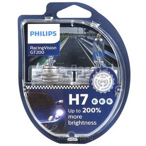 PHILIPS 12972RGTS2 -SET!!! Лампа к-т H7  55W +200%  Vision GT+200%  к-т2шт!!!