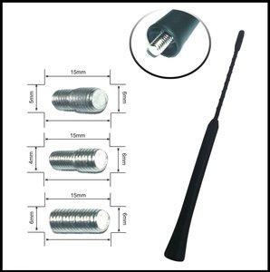 КИТАЙ K23489 Антенна   Стержень запасной (короткий) S  адаптер. 4/5/6mm L=23.5cm