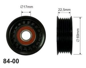 CX 84-00 Ролик   Руч.рем. F*FC 1,4-1,6 16V  99-04 натяж.  6-руч. без/мех.