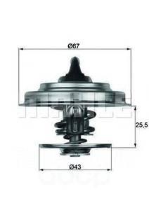 BEHR BTX1887D ТЕРМОСТАТ MB*OM102-104 2.0-3.2B  87C  D=67mm