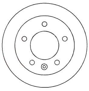 PATRON PBD2790 Диск торм.   Передн. с/в  MB*SPR / VW*LT 2/3t  (F-07517)