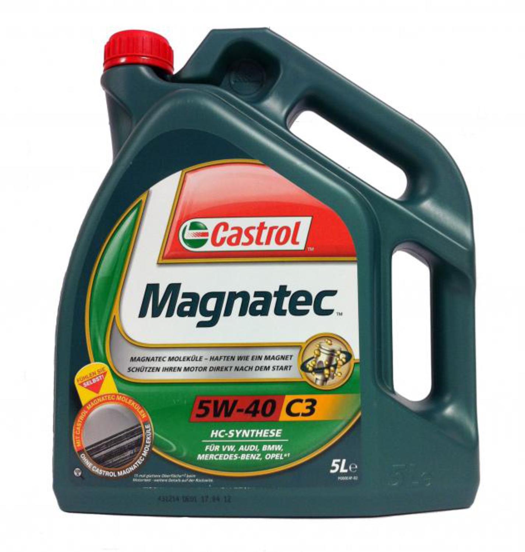 CASTROL MAG-5L Масло авто моторн.    5W40 MAGNATEC 5L  C3  СИНТ.