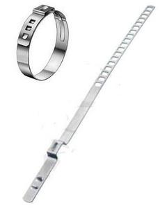 КИТАЙ K21246 Хомут   ШРУС, Рул/р, Од/раз. 60-124mm метал. UNIVERS  регулир. размер прямой