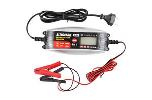 ALLIGATOR AC-812 Зарядн. устр-тво   для авто цифровая (автомат)  1,2-120AH 230W  6-12V 2/4A