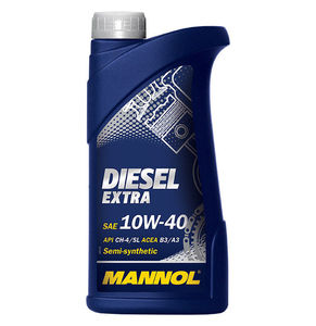 MANNOL D-EX-1L Масло авто моторн.   10W40 DIESEL EXTRA  1L  П/СИНТ