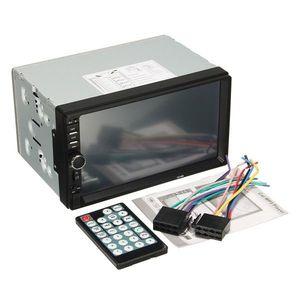 КИТАЙ K36143 Магнитола авто без CD/DVD 2DIN mini.  USB/SD/AUX/DVD/GPS/TV